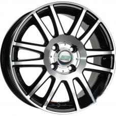 Литые колесные диски N2O Y4917 4.5x14 4x100 ET43.5 DIA56.6 BFP